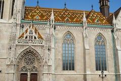 Церковь Matthias в Будапешт (Венгрия) Стоковое Изображение RF