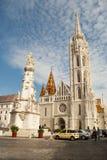 Церковь Matthias в Будапешт (Венгрия) Стоковая Фотография