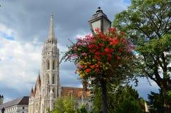 Церковь Matthias в Будапешт Стоковое фото RF