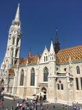 Церковь Matthias стоковое изображение rf