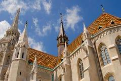 церковь matthias Стоковое Фото