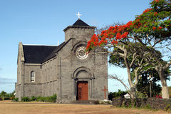 церковь mauritian стоковая фотография rf