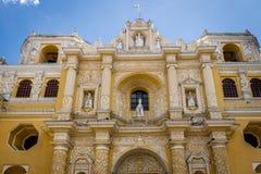 Церковь Merced Ла - Антигуа, Гватемала Стоковая Фотография RF