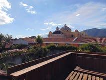 Церковь Merced на небе стоковое фото rf