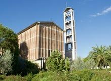 Церковь Michelucci Ла Vergine St Mary в Пистойя, Тоскане Италии стоковые фото