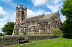 Церковь Mirfield St Mary Стоковое Фото