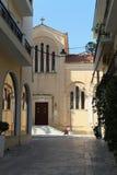 Церковь Mitropoli, Греция, Закинф, остров Закинфа Стоковые Фотографии RF