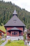 Церковь Murren стоковое изображение rf
