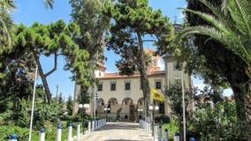 Церковь Myrina на Limnos, Греции Стоковые Фотографии RF