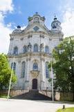 Церковь Neresheim аббатства Стоковые Изображения RF