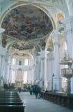 Церковь Neresheim аббатства Стоковая Фотография RF