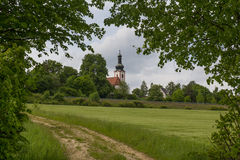 Церковь Neukirchen Стоковые Фото