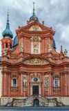 Церковь Neumunster, Wurzburg, Германия Стоковое фото RF