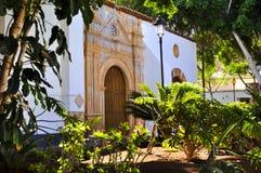 Церковь Nuestra Senora de Regla в Pajara Фуэртевентура Стоковые Изображения RF