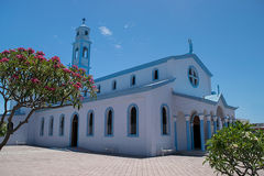 Церковь Nuestra Sra de Лурда стоковые фотографии rf
