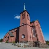 Церковь Nynashamn, Стокгольма, Швеции Стоковое фото RF