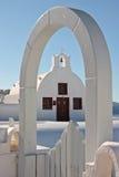 церковь oia Стоковая Фотография