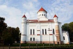 Церковь Ortodox в Вильнюсе Стоковые Фото