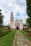 Церковь Oxtotipac и скит, Мексика Стоковое Изображение RF
