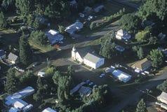 Церковь Palouse в Пуллмане Вашингтоне Стоковое фото RF