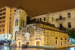 Церковь Pantanassa в Афинах Стоковое фото RF
