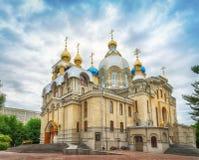 Церковь Panteleimon Святого, Essentuki, Россия, 15 Juny 2017 Стоковое Изображение RF