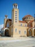 Церковь Paralimni. Стоковое Изображение RF