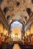 Церковь Parroquia Nuestra Senora del Кармен стоковые изображения