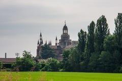 Церковь Pavia стоковое фото