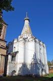 Церковь Petrovsky на улице Sadovaya, Pereslavl-Zalessky Россия стоковое изображение rf