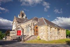 Церковь Pitlochry, в графстве Perthshire в Шотландии стоковая фотография rf