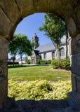 Церковь Plabennec & x28; France& x29; Стоковое Изображение RF