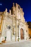 Церковь Purgatorio в Трапани, Сицилии стоковые изображения