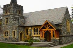 Церковь Queenstown ` s St Peter, Новая Зеландия Стоковое фото RF