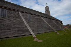 Церковь Quinchao - Chiloe - Чили стоковое фото rf