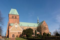 Церковь Ratzeburg в Германии Стоковое фото RF