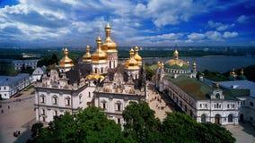 Церковь Refectory и собор предположения Стоковые Фото