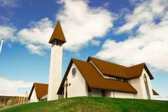 Церковь Reykholt Стоковая Фотография