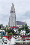 Церковь Reykjavik Исландия Hallgrimskirkja Стоковые Фотографии RF