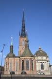 Церковь Riddarholmskyrkan; Остров Riddarholmen; Стокгольм Стоковые Фото