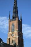 Церковь Riddarholmskyrkan; Остров Riddarholmen; Стокгольм Стоковая Фотография
