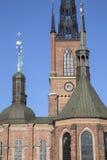 Церковь Riddarholmskyrkan; Остров Riddarholmen; Стокгольм Стоковое Изображение