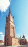 Церковь Riddarholmskyrkan Стоковые Фото