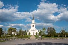 Церковь Risinge, Швеция Стоковые Изображения