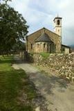 Церковь Romanesque Стоковое Изображение RF