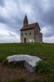 церковь romanic стоковое изображение