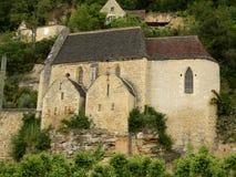 Церковь Roque Gageac Ла Стоковое Фото
