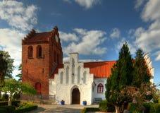 церковь rosted Дания стоковые фотографии rf