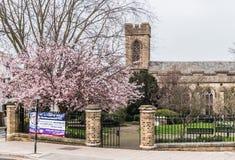 Церковь Ryde St. Thomas, тихий район Стоковое Изображение