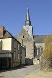 Церковь Sainte-Сюзанны в Франции Стоковое фото RF